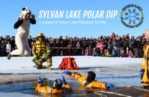 Sylvan Lake Polar Dip - Community Involvement - Sylvan Lake RV