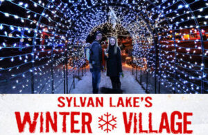 Sylvan Lake Winter Village - Community Involvement - Sylvan Lake RV